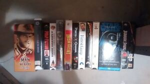 Lot of 17 VHS tapes, all working