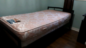 Twin bed & boxspring- Great condition - clean home