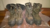 2 pair Rocky insulated hunting boots sz 13