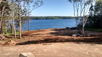 Mature treed lot access to darlings lake