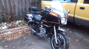 1981 honda gl500 Silverwing interstate