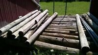 Fencing Posts, Poles and Material