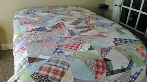 Hand Crafted Patchwork Quilt