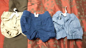 Boys 3 month shorts