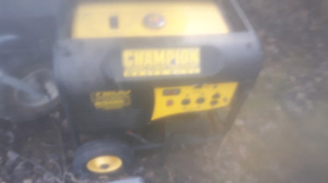 Champion 7800( watt running) generator