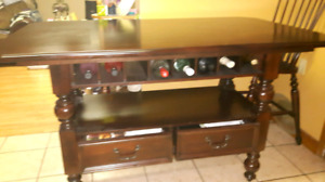 Dining room table or kitchen with 4hars