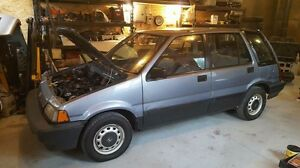 1987 Honda Civic Wagon RT4WD 5 speed awd shuttle