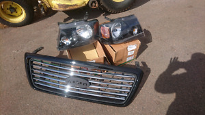 F150 Harley 04-08 grill and headlights