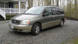 2005 Ford Freestar Limited Minivan,-Reasonable Offers Considered