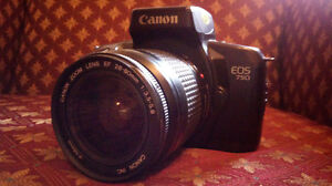 Canon EOS 750 35mm SLR with 28-80mm Canon lens
