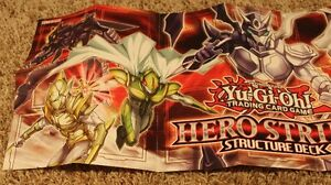 Yu-Gi-Oh! Trading Card Game: HERO Strike Structure Deck Duel Mat West Island Greater Montréal image 2