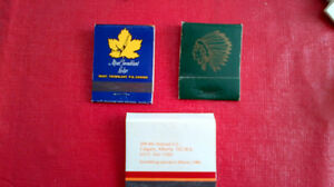 Matchbook Covers-Banff Springs,Bow Valley,Mont Tremblant lodge Kitchener / Waterloo Kitchener Area image 2