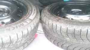 Excellent condition michelin x ice winter tires with r for sale