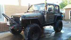 Jeep TJ for sale or trade on side by side atv