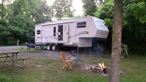 Jayco Eagle 263 fifth wheel trailer