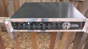 SWR 550X bass amp
