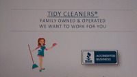 TIDY CLEANERS 780 405 5688