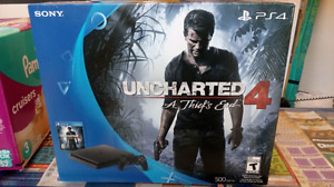 Ps4 slim uncharted 4 bundle brand new sealed