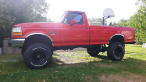 Lifted 96 f150