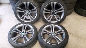 "18"" BMW 3 SERIES ALLOY WHEELS"