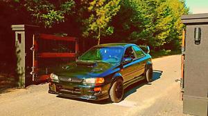 Subaru impreza 2.5rs 2001