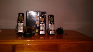 3 Cordless Home Phones