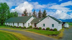 Farm For Sale....5 Flat acres...w/ Home, Barn, Coverall and POOL