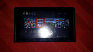 *USED* Nintendo Switch, ALL ACCESSORIES, 4 GAMES, TRAVEL CASE