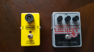 MXR Micro Chorus & EHX Little Big Muff
