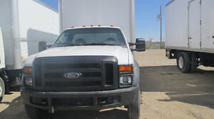 2010 FORD F 450 16 FT BOX