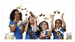 GIRL GUIDE COOKIE DRIVE THRU from 10am to 2, while supplies last