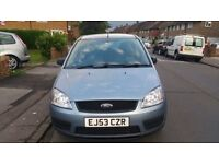 ford Focus C MAX 2004 1.6 Manual 5 Door Hatchback Diesel
