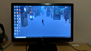 "23"" HD HP monitor"