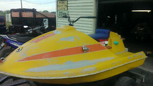 3 sea doo antique  bombardier 1969