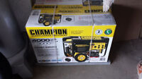Champion Portable Generator With Electric Start  BRAND NEW