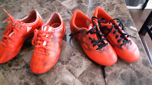 2 pairs of ADIDAS soccer shoes