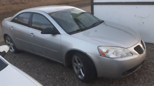Pontiac g6 for parts