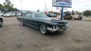1971 rare coupe de ville all orig 46k barn find