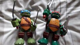 Talking ninja turtles