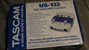 USB AUDIO MIDI INTERFACE US-122 TASCAM