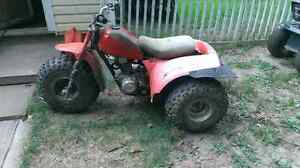 Honda parts three wheeler . 200$