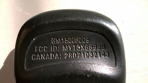 GM key less entry remote