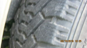 goodyear nordics  winter tires on pontiac rims Peterborough Peterborough Area image 4