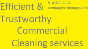 TRUSTWORTHY CLEANING SERVICES AND MAINTENANCE MONTREAL & ANJOU