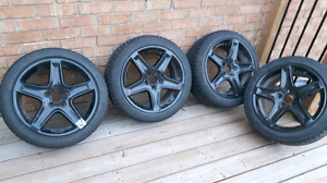 """17"""" 5x114 3 acura tl rims and tires"""