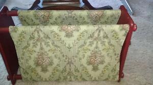 Antique tapestry Magazine rack - Sussex