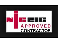 Electrician NIC EIC Approved. Call us today for your free quotation