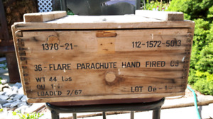 Antique Flare Crate
