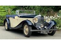 1935 Bentley 3.5 Litre Vanden Plas style cutaway door Tourer B91EJ