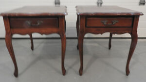 End Tables French Provincial Style